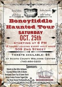 Boneyfiddle Haunted Tour