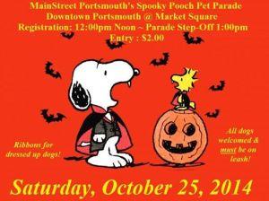 Spooky Pooch Pet Parade