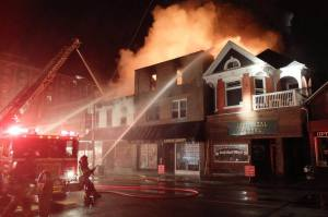 Union St Fire athens ohio